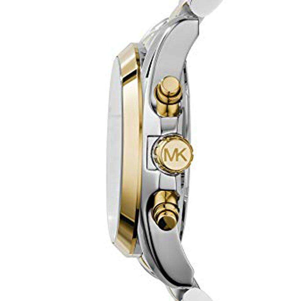 Michael Kors MK 5976 Men's Bradshaw Two-Tone Watch Steel Umisfashion Store