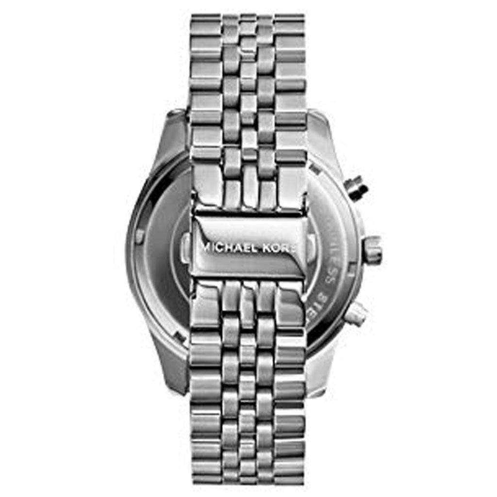 Michael Kors Men's MK 8280 Lexington Silver-Tone Watch Steel Umisfashion Store