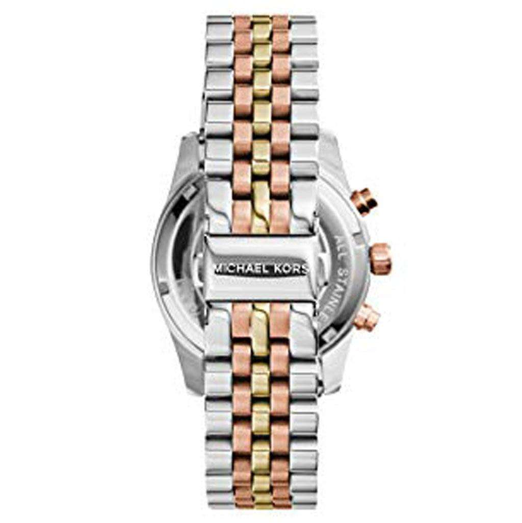 Michael Kors Women's MK 5735 - Sport Lexington Tri-Tone Watch Steel Umisfashion Store