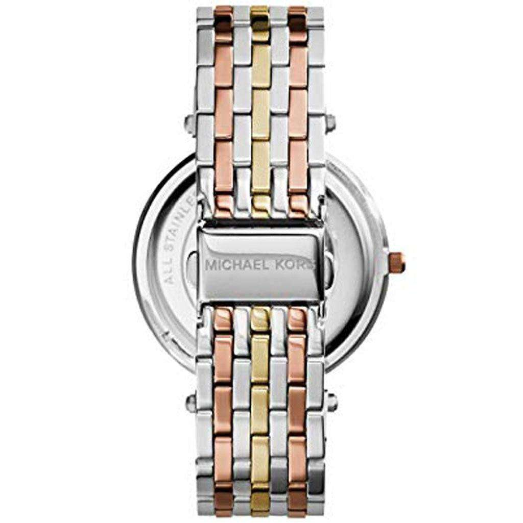 Michael Kors Women's MK 3203 Darci Tri-Tone Watch Steel Umisfashion Store