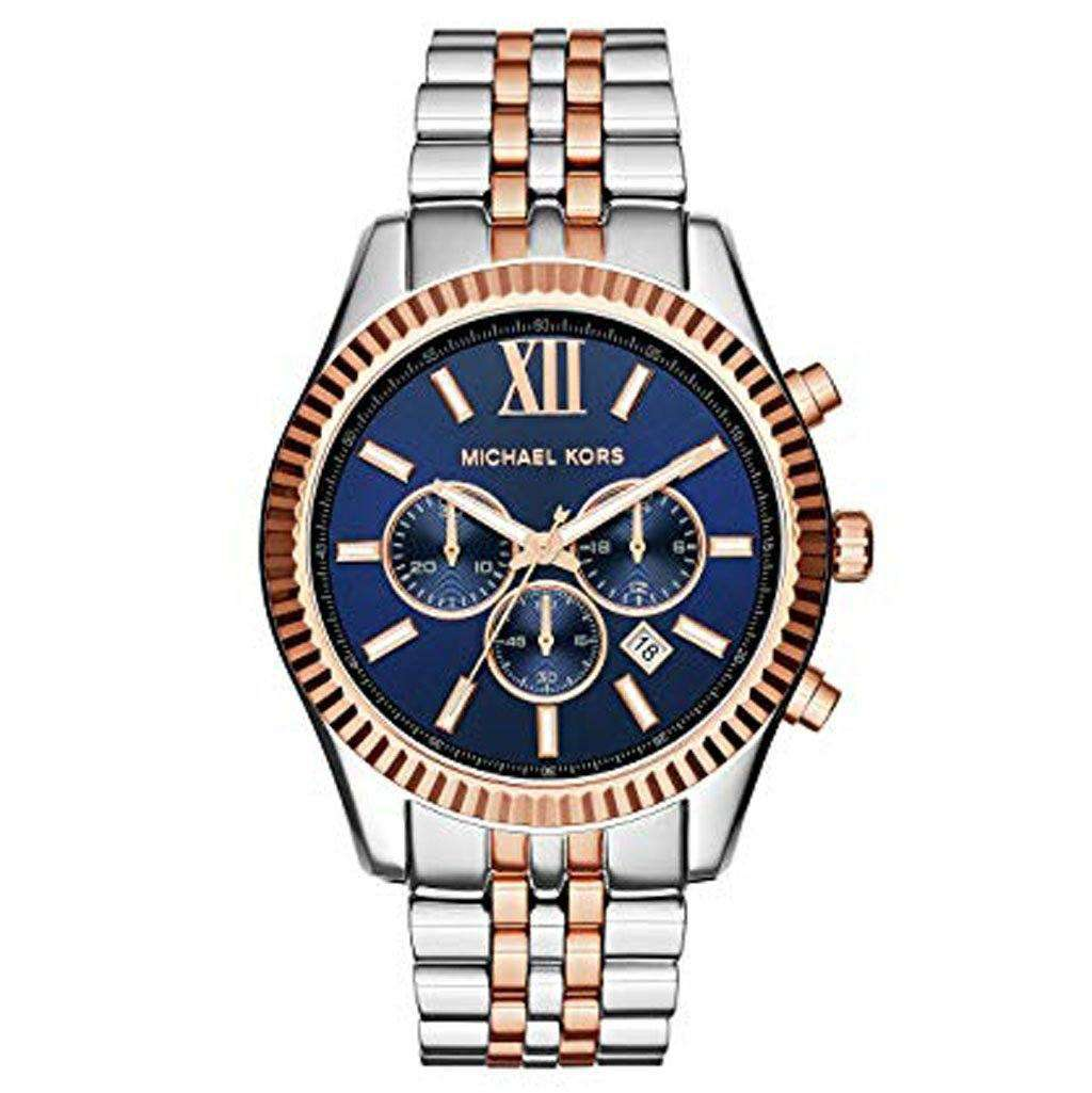 Michael Kors Women's MK 8412 Two Tone Lexington Watch Steel Umisfashion Store