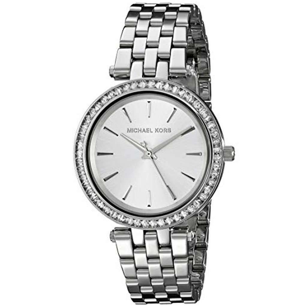 Michael Kors Women's MK 3364 Darci Silver-Tone Watch Steel Umisfashion Store