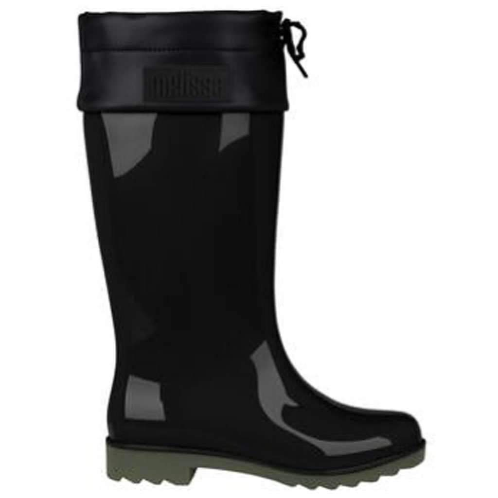 Melissa Shoes Women's Rain Boot - Black Umisfashion Store