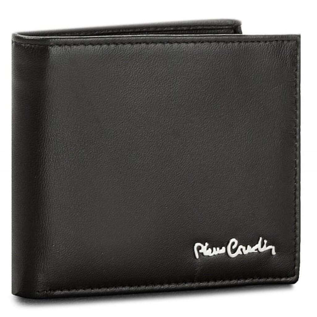 Pierre Cardin Black Leather Wallet - Silverline Limited Edition Leather Umisfashion Store