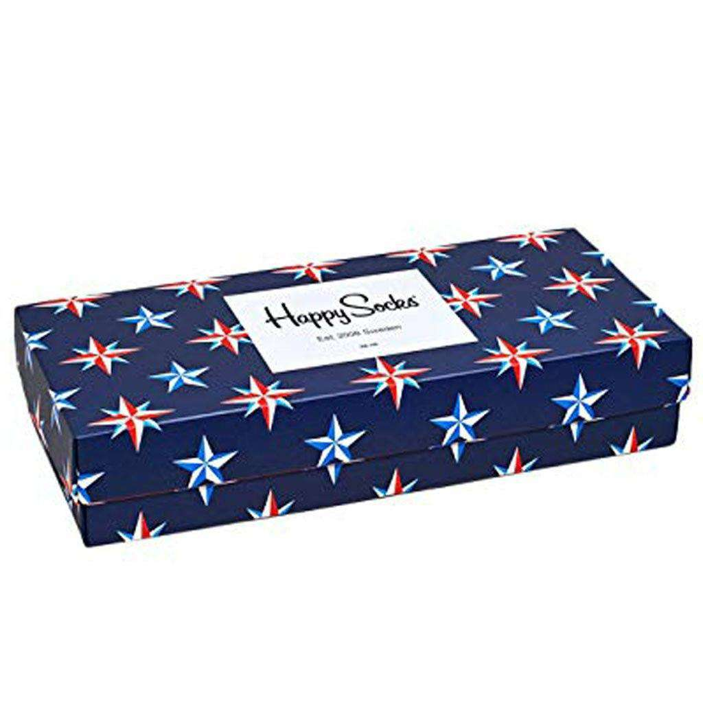 Happy Socks Colorful Soft Organic Cotton Rich Nautical Gift Box Socks Accessories Umisfashion Store