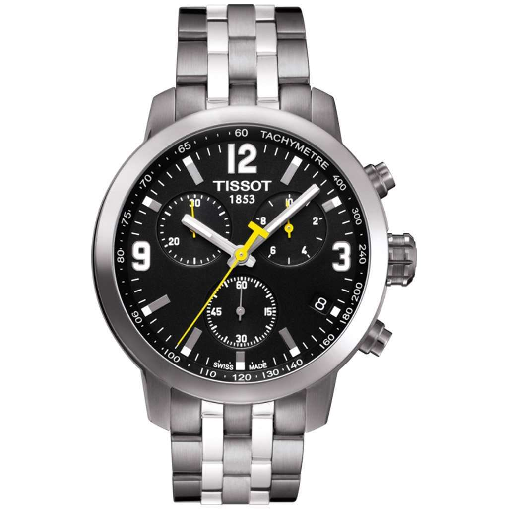 Tissot PRC 200 Chronograph Watch - T055.417.11.057.00 Steel Umisfashion Store