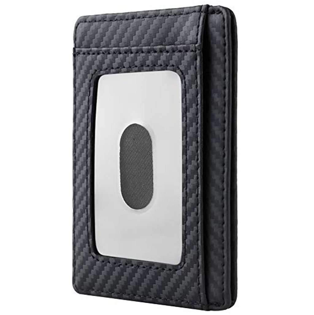 Travelambo Front Pocket Minimalist Leather Slim Wallet RFID Blocking Accessories Umisfashion Store