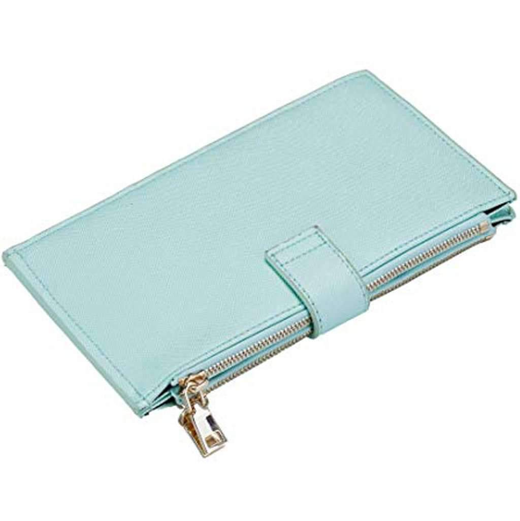 Travelambo Women's Wallet RFID Blocking Bifold Ch-Greenery Wallet Accessories Umisfashion Store