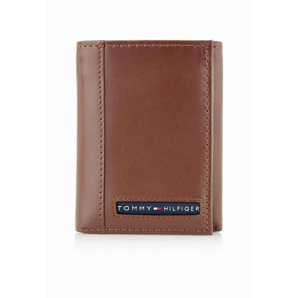 Tommy Hilfiger Trifold Wallet Tan Accessories Umisfashion Store