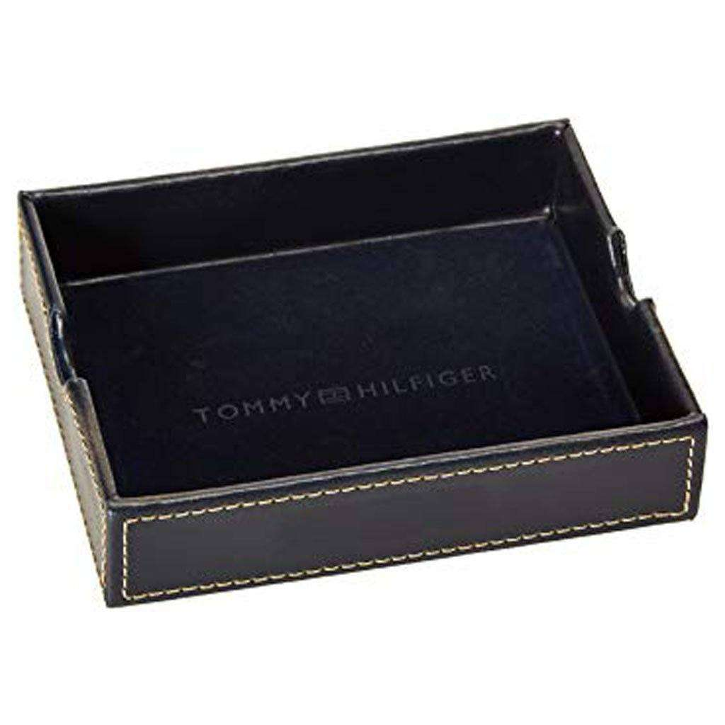 Tommy Hilfiger Bifold Men's Dark-Brown Passcase Wallet Accessories Umisfashion Store