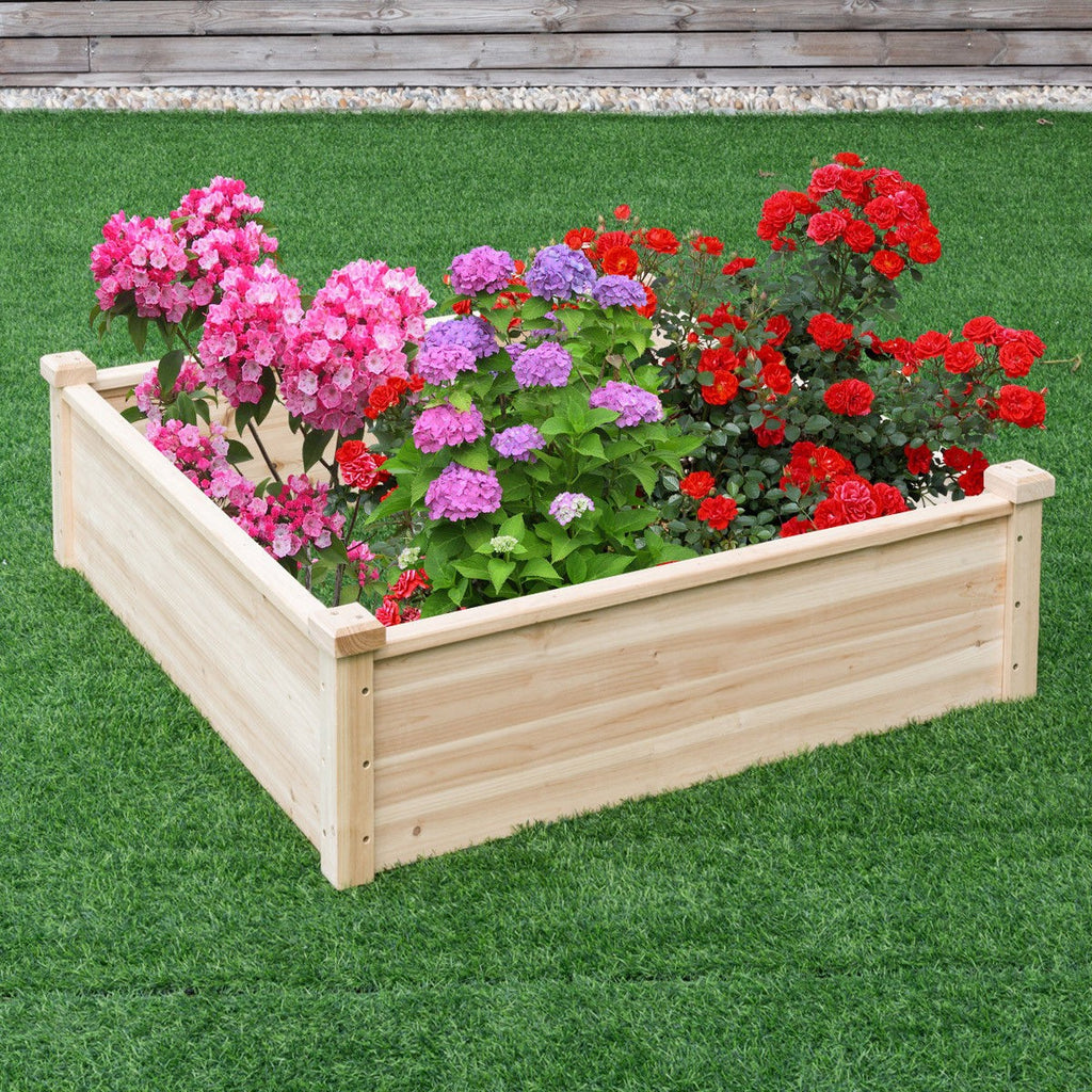 Raised Bed Planter for Yard