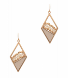 Step Into It Ivory Earrings