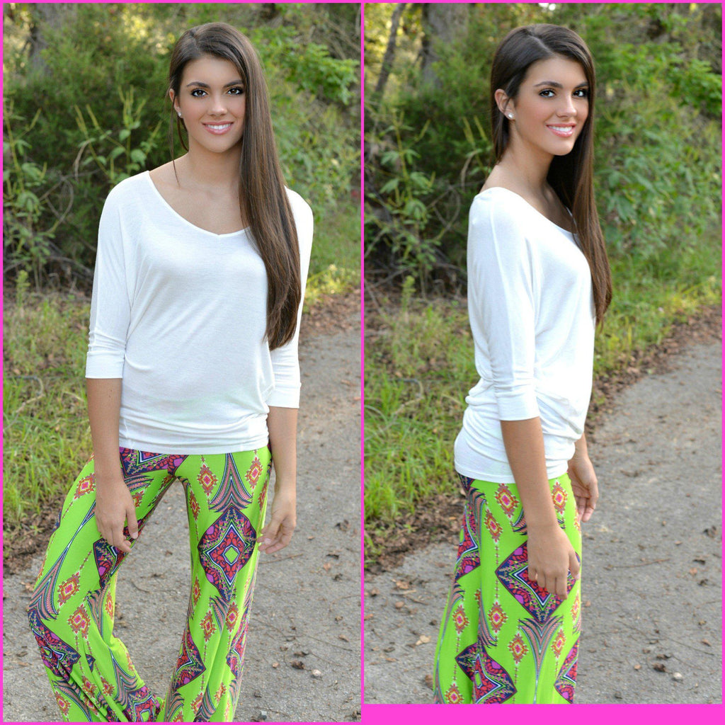 Honey Dew Yoga Pants