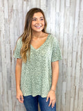 Keep It Simple Olive Top