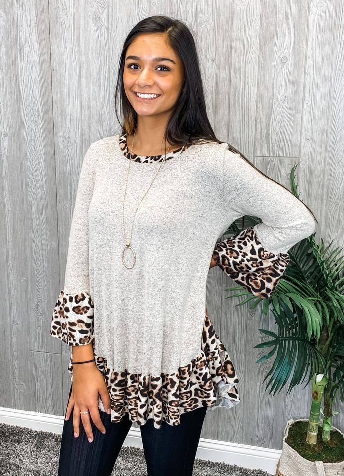 Own Your Attitude Tunic Top