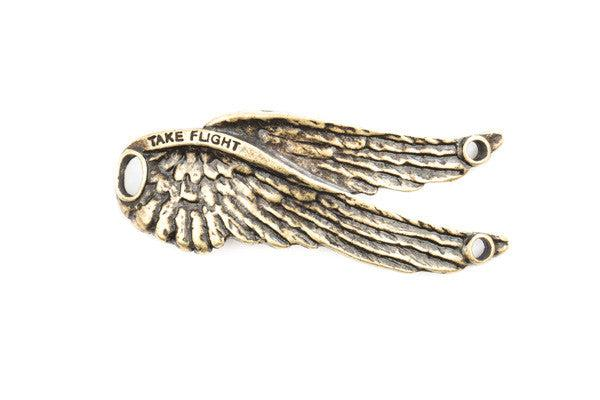 Lenny and Eva Large Wings Pendant