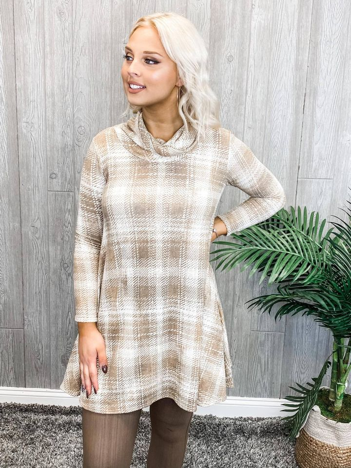 Pretty Prestige Tunic Dress