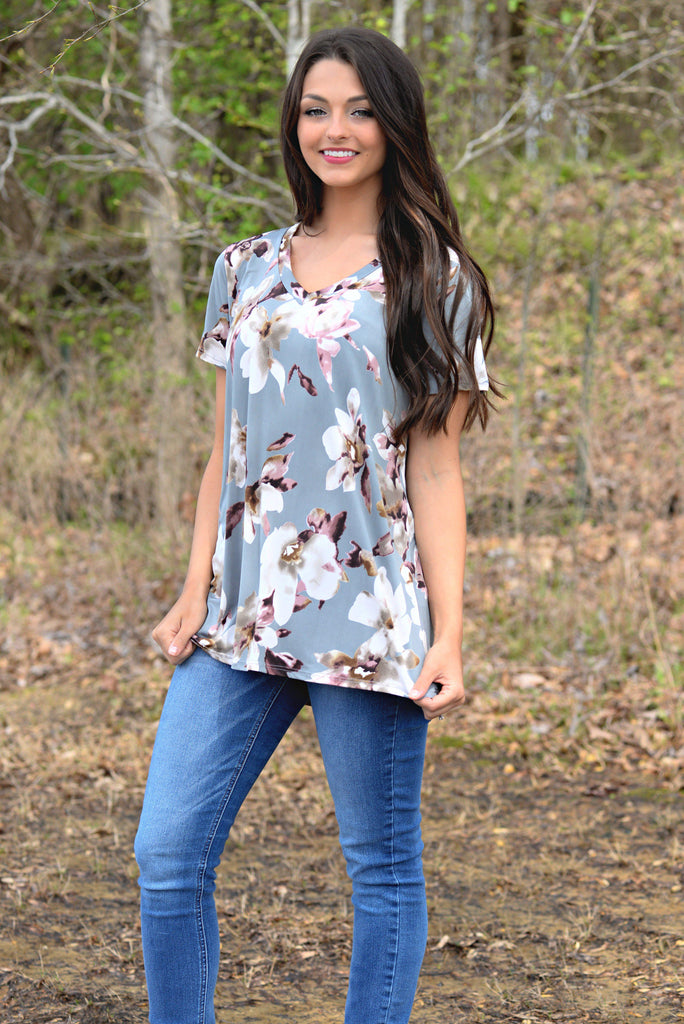 ANOTHER LOVE FLORAL TOP