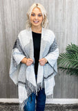 So Much Beauty Poncho Cardigan - DOORBUSTER