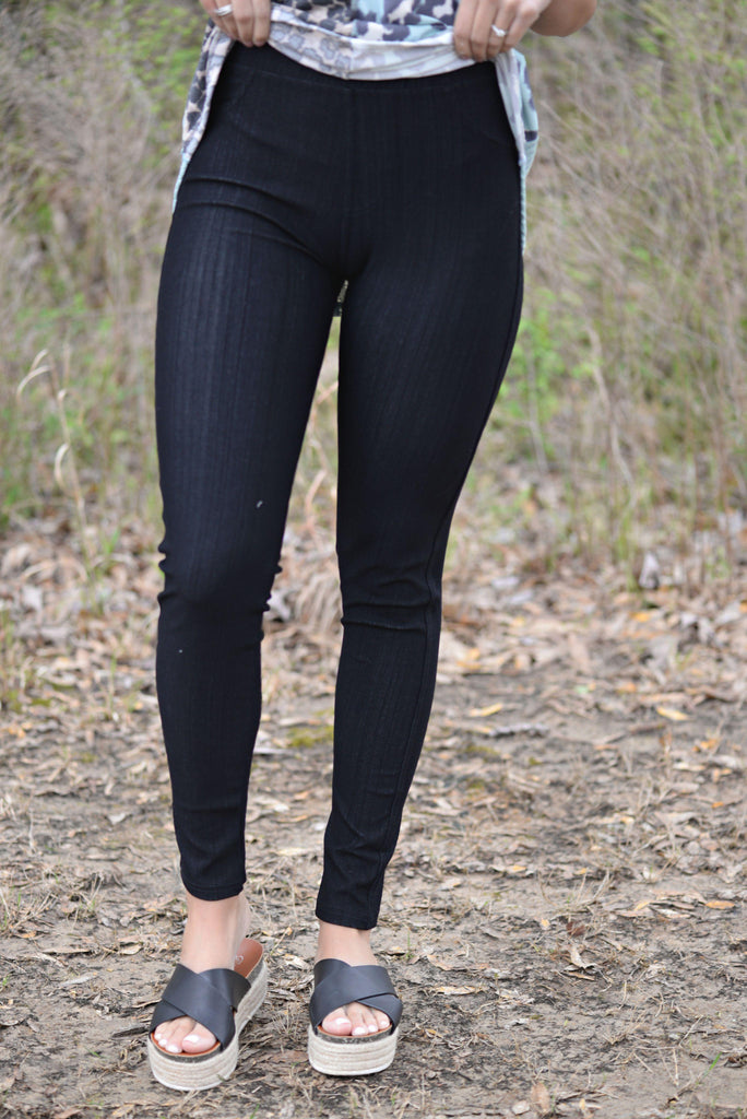 Incredible You Black Jeggings