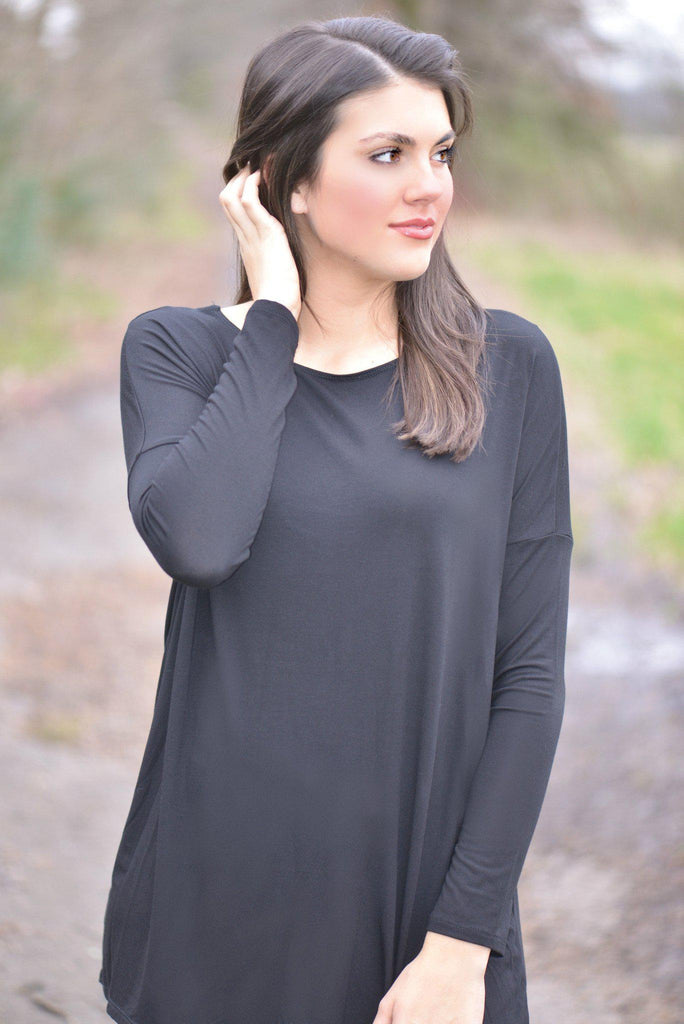 Blank Canvas Black Top
