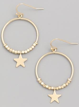 Bright As You Star Earrings