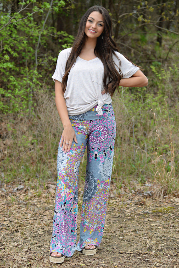 CANDY COATED YOGA PANTS