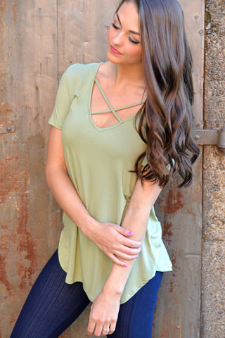 Angel Island Tunic Top