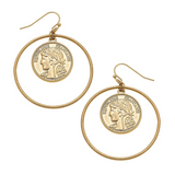 Kailyn Coin Earrings