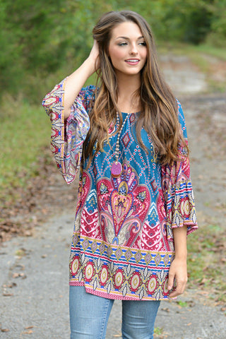 A Patch Made in Heaven Tunic