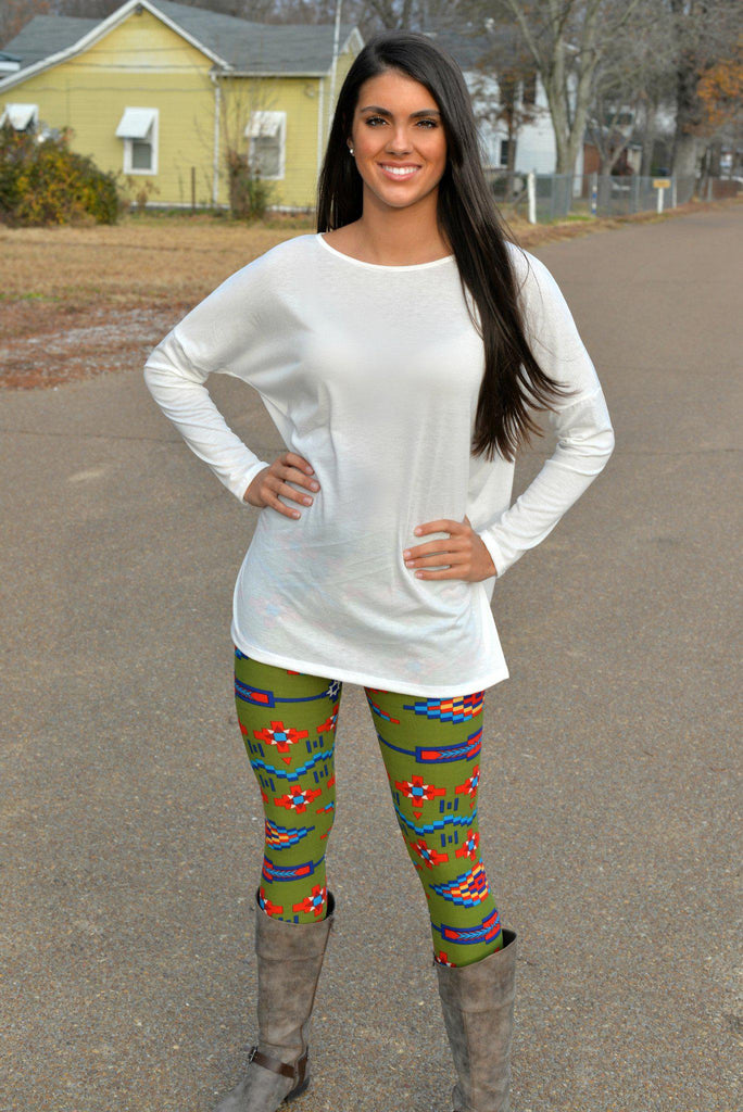 Fire Dancer Print Leggings