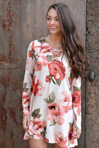 Fearlessly In Love Tunic Dress