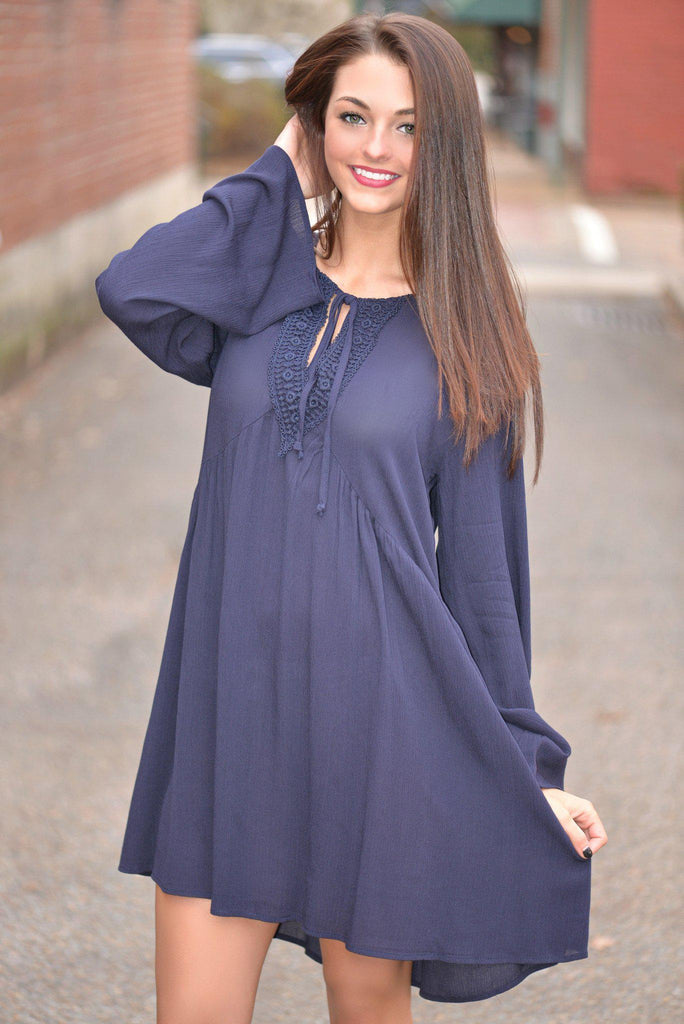 Full of Memories Boho Tunic Dress
