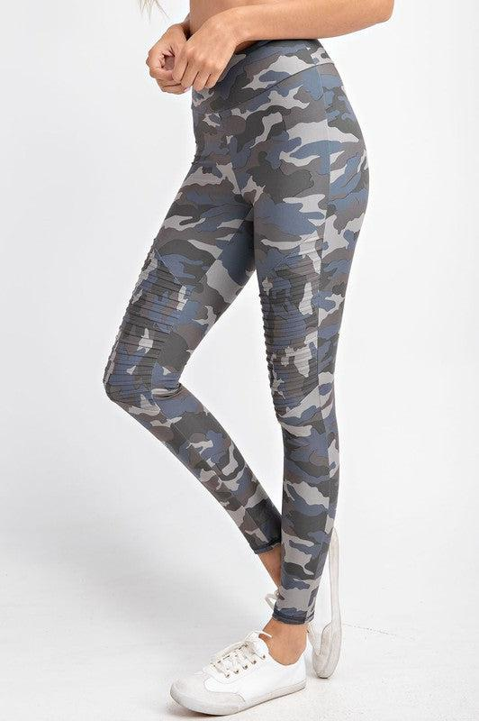 Catch You Later Camo Athletic Leggings