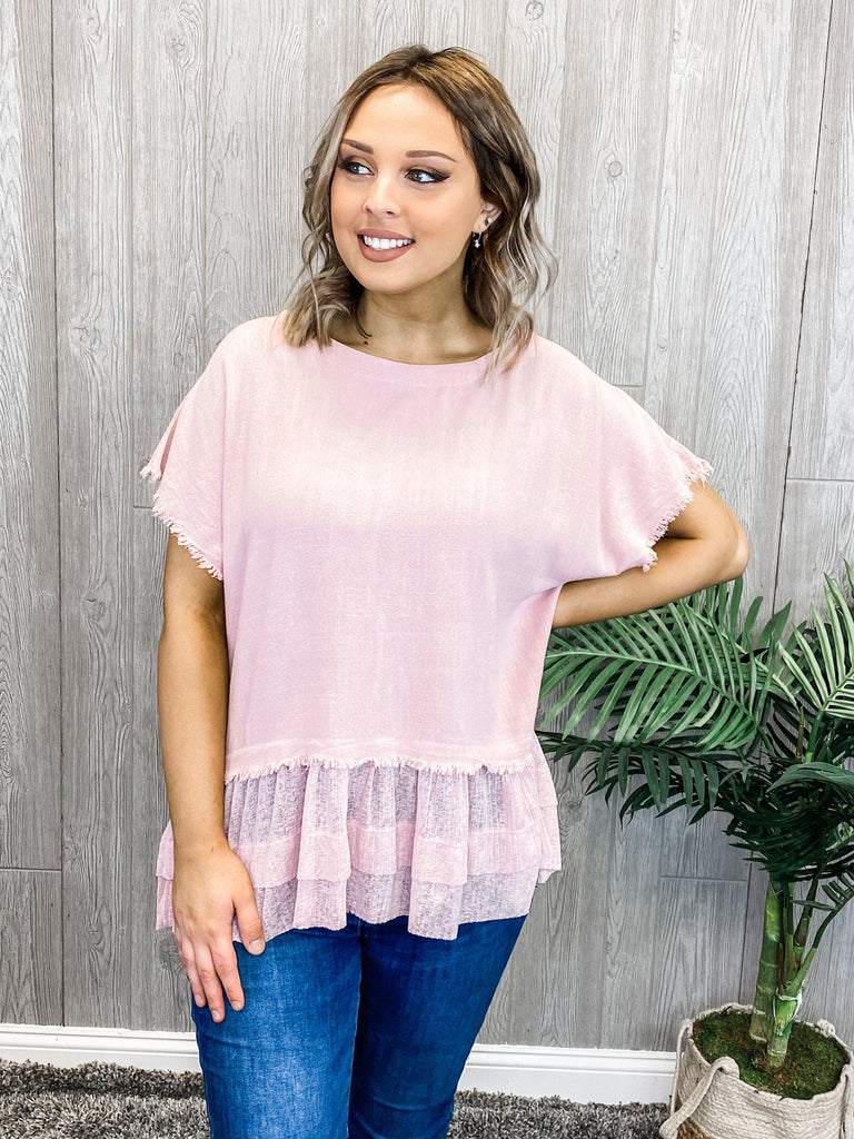 Fringed and Flirty Top