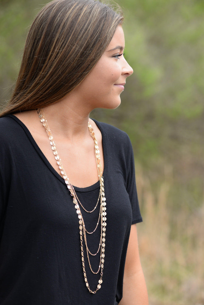 Layers Upon Layers Necklace