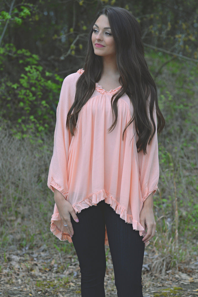 Make Me Swoon Babydoll Top