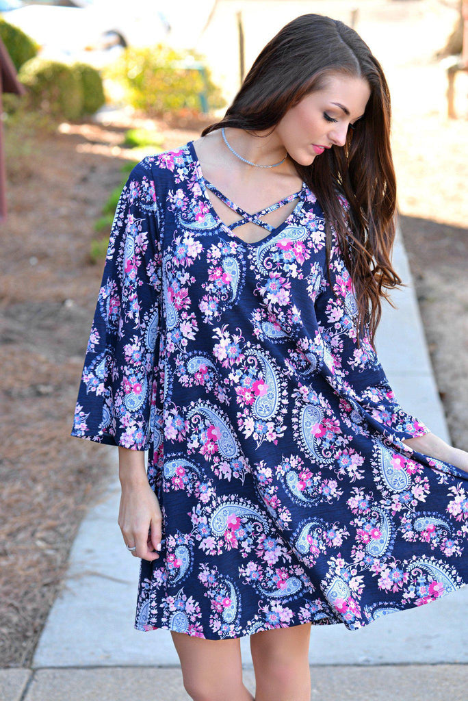 Making Memories Floral Tunic Dress
