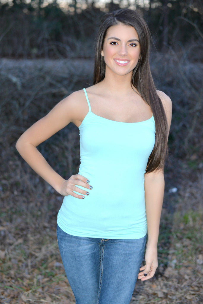Mint Layering Camisole