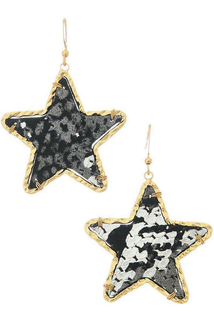 Needless to Say Star Earrings