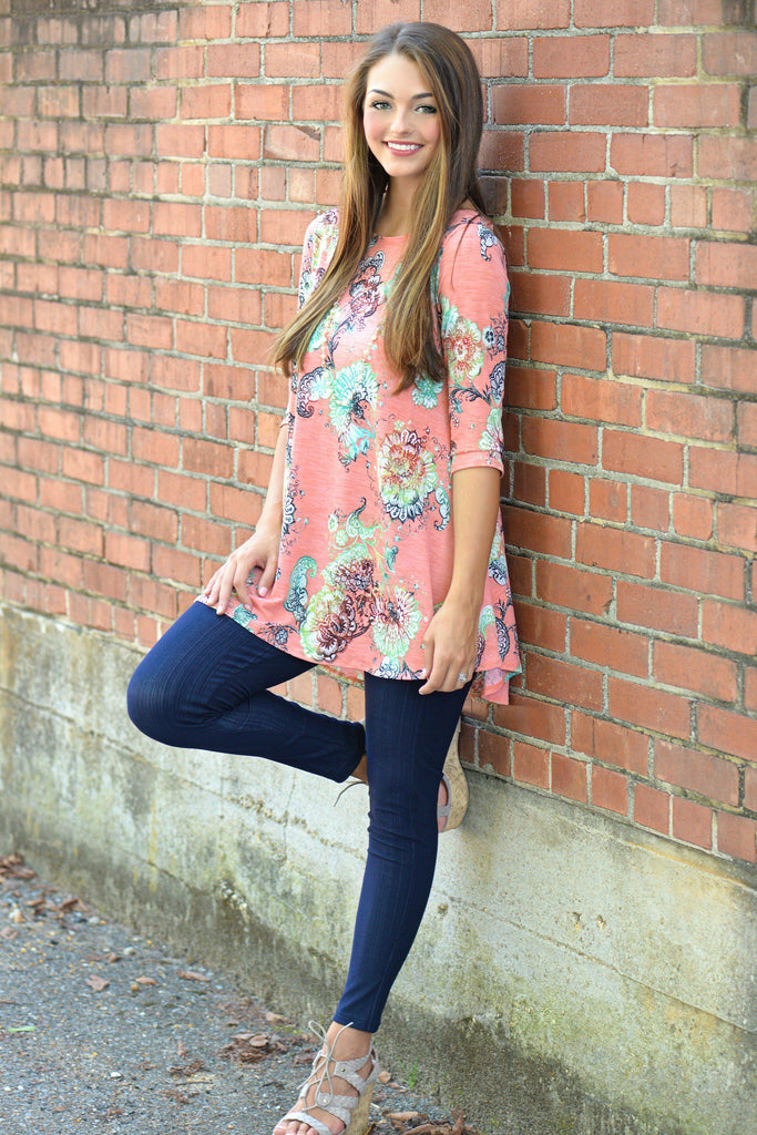 No Secrets Tunic Top