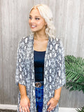 Out of the Woods Kimono