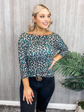 OVER JOYED LEOPARD TOP