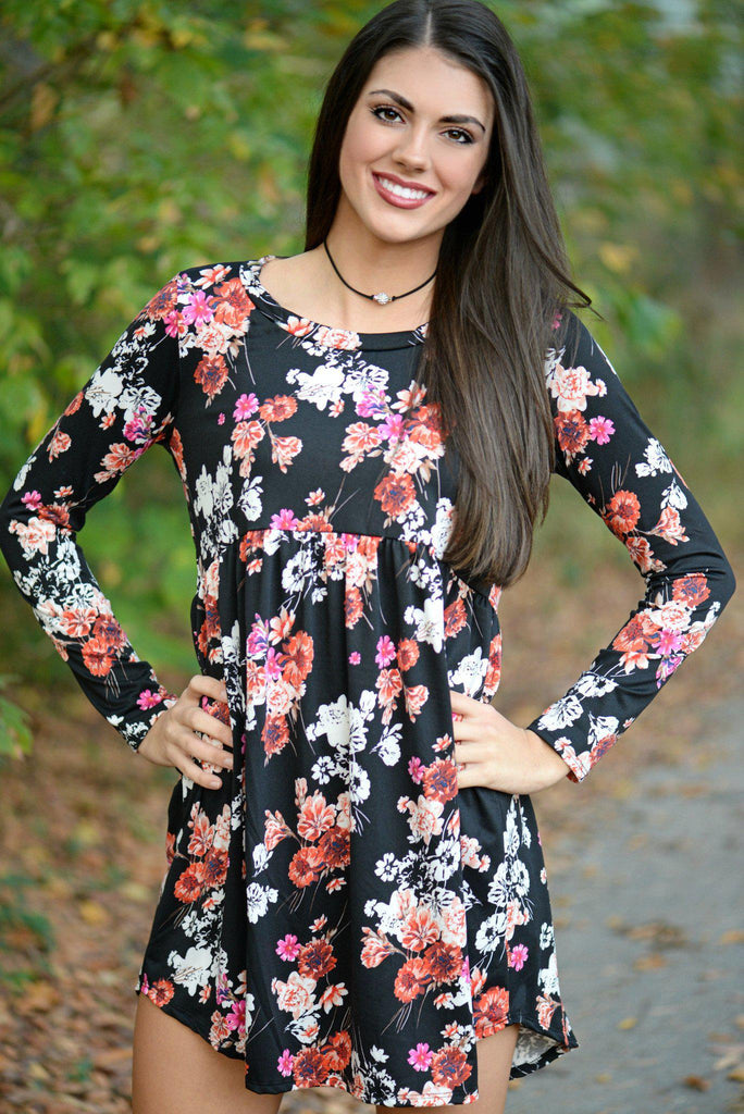 Perfect Patch Floral Dress