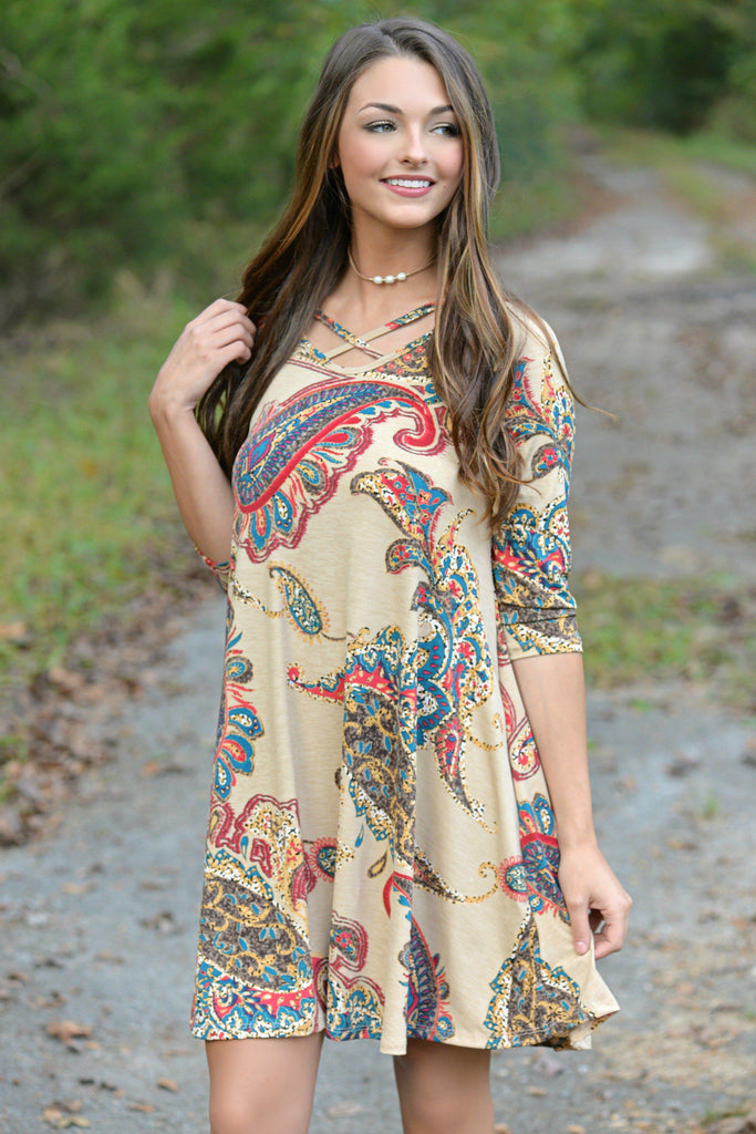 Plenty of Paisley Tunic Dress