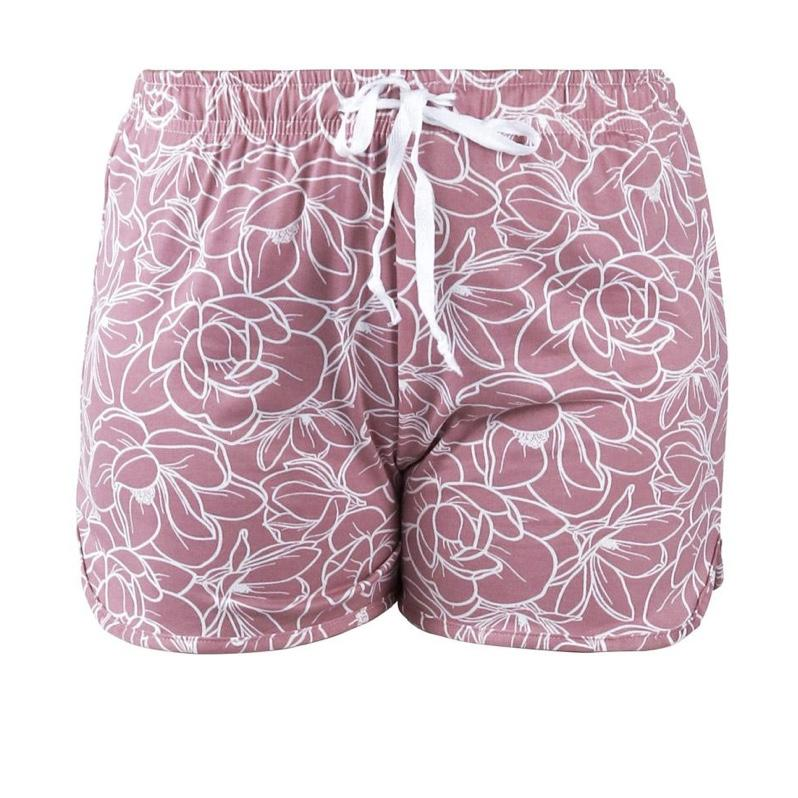 Hello Mello Sweet Escape Lounge Shorts - Breakfast in Bed
