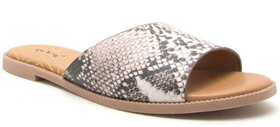 Up for Adventure Snakeskin Sandals