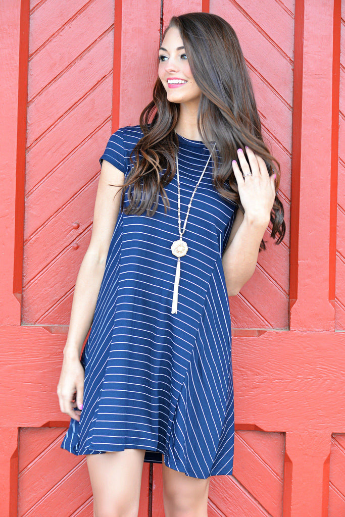 Stripe Hype Dress