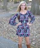 Sweet Trails Tunic Dress