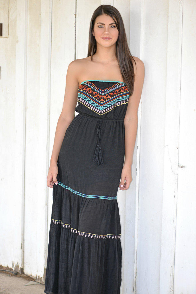 Tribal Romance Maxi Dress